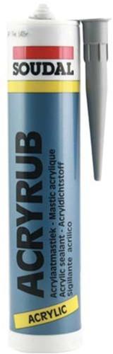 Sealant inside grey 310 acrylic tube 310ml. (piece)