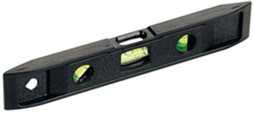 Spirit level 225mm with magnetic bottom
